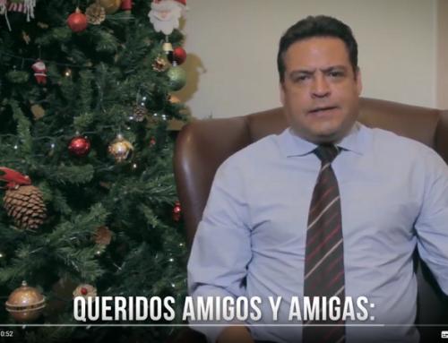 Mensaje de fin de año, presidente de Mercociudades e intendente de La Paz, Luis Revilla