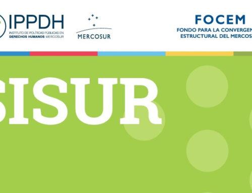 SISUR, a agenda de direitos humanos do Mercosul atualizou sua base de dados