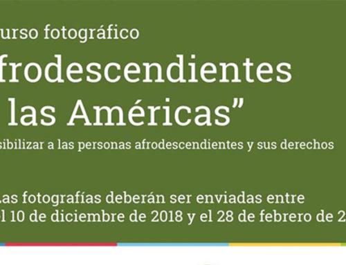 """Concurso fotográfico """"Afrodescendientes en las Américas"""""""