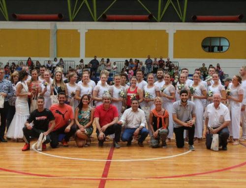 General Alvear recibió a grupo de gimnastas daneses que recorren el mundo