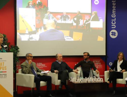 Inicia o encontro de CGLU em Barcelona