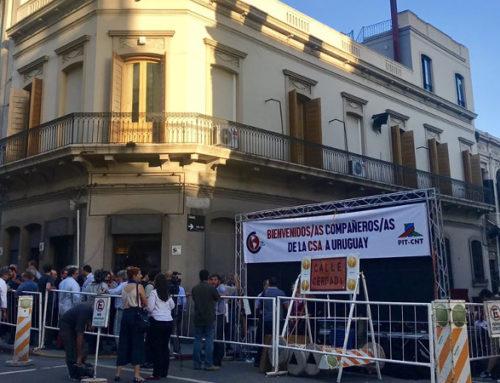 Confederación Sindical de Trabajadores de las Américas inauguró sede en Montevideo