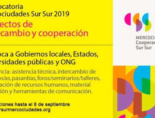 Inscrições até 8 de setembro: projetos de cooperação Sul Sul 2019