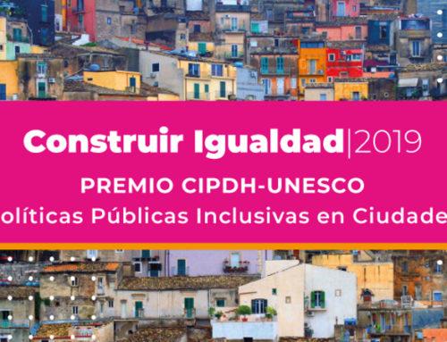 Premio Construir Igualdad 2019