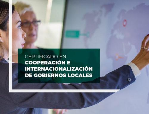 Inscripciones abiertas: Curso de cooperación e internacionalización de gobiernos locales