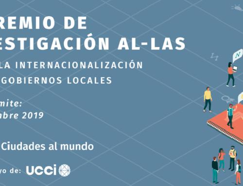 Prêmio de Pesquisa à internacionalização dos Governos locais