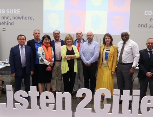 Mercociudades en el encuentro del secretariado general de CGLU