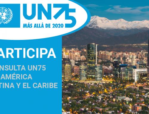Inscrições até 21 de maio: consulta UN75 para a região andina e Cone Sul