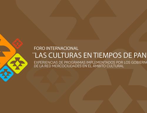"""Foro Internacional """"Las culturas en tiempos de pandemia"""""""