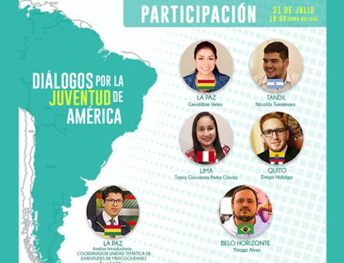 Inscripciones abiertas: América del Sur debate sobre la participación de las y los jóvenes