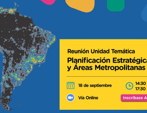 Encuentro de Mercociudades abordará las políticas públicas de planificación local en contexto de pandemia