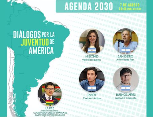 Inscripciones abiertas: Jóvenes de América del Sur debaten sobre la Agenda 2030