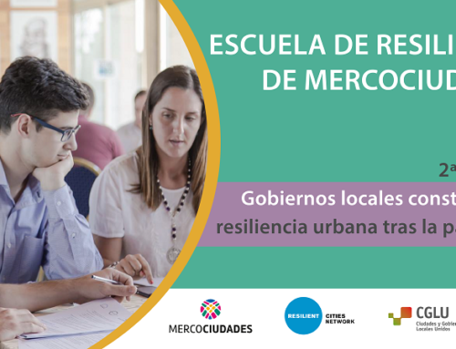 Convocatoria abierta para participar de la Escuela de Resiliencia de Mercociudades