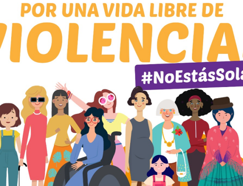 Por una vida libre de violencias / #NoEstásSola / #LasCiudadesTeAcompañan