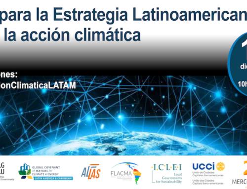 """Mercocidades no """"Fórum para a Estratégia Latino-Americana para a ação climática"""""""