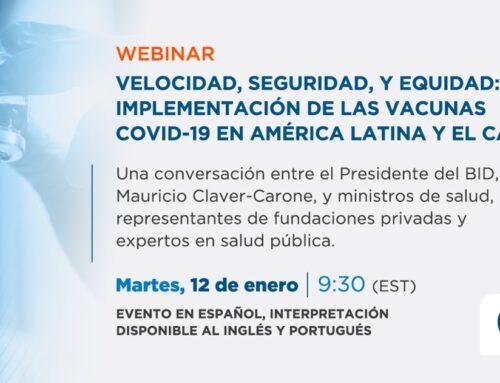 Webinar: Implementación de las Vacunas COVID-19 en América Latina y el Caribe