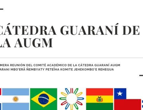 Cátedra de Guaraní de AUGM comenzó sus actividades