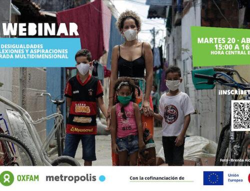 """Webinar: """"Un enfoque multidimensional de las desigualdades urbanas"""""""