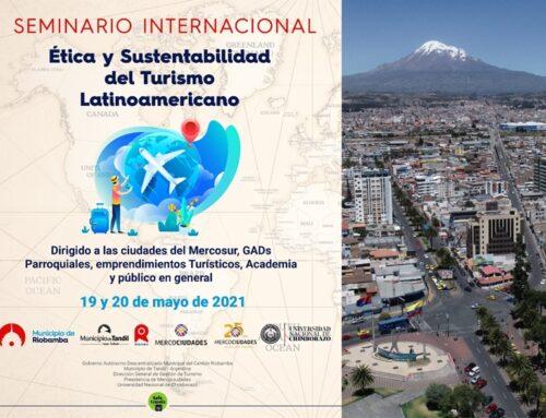 Seminario virtual: Ética y sustentabilidad del Turismo Latinoamericano