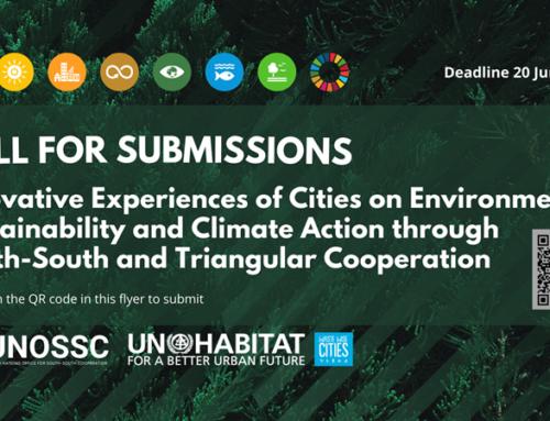 Convocatoria: Experiencias innovadoras en Sostenibilidad Ambiental y Acción Climática