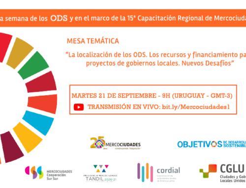 Ciudades de la región, se capacitan e intercambian experiencias para localizar los ODS