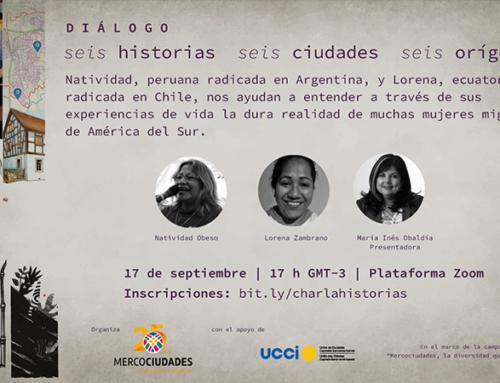 CONVERSA: Compartilhamos experiências de vida e dialogamos sobre migração e mulheres em América Latina