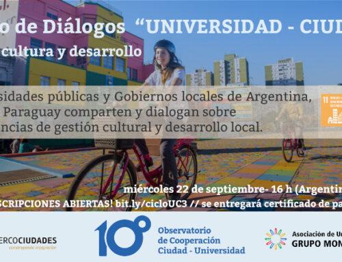 Universidades y gobiernos locales de América del Sur dialogan sobre Cultura y Desarrollo