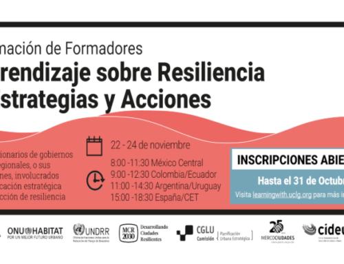 Postulaciones abiertas: Formación de formadores en Resiliencia